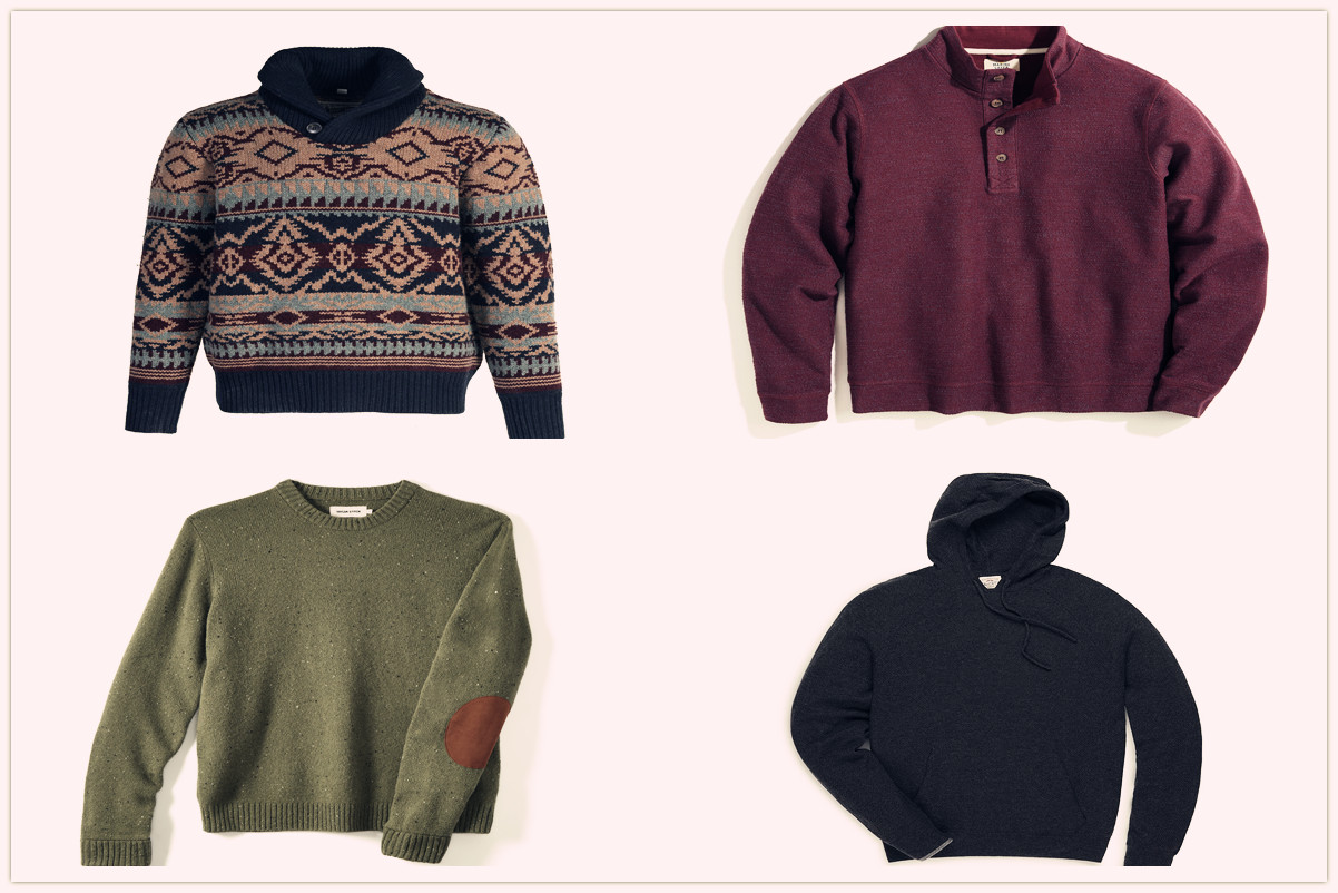 9 Comfortable And Stylish Sweaters For Men This Season