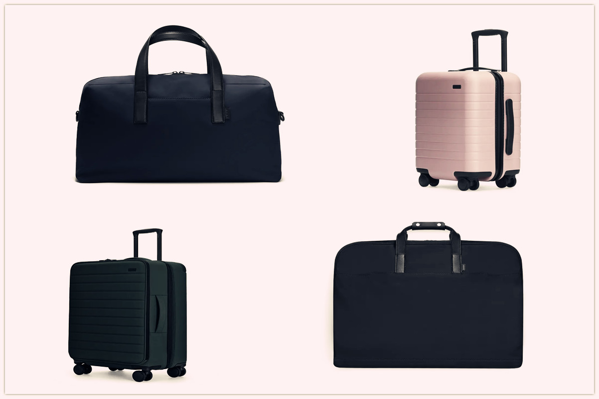 6 Suitcases & Bags For Modern Travel In A functional Style